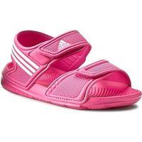 Sandały dziecięce  akwah 9 k (af3871) - różowy marki Adidas
