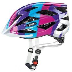 Kask rowerowy  air wing junior niebiesko-różowy od producenta Uvex