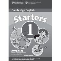 Cambridge Young Learners English Tests Second Edition Starters 1 Answer Booklet, Cambridge University Press