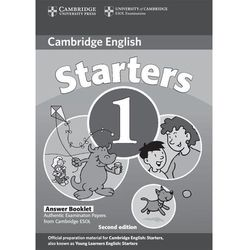 Cambridge Young Learners English Tests Second Edition Starters 1 Answer Booklet (Cambridge University Press)