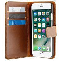 Puro  duetto wallet detachable - skórzane etui 2w1 iphone 7 / iphone 6s / iphone 6 (brązowy)