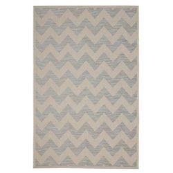 Dekoria dywan modern chevron wool/ ice blue 160x230 cm, 160x230cm