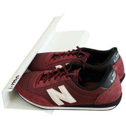 Listwa na buty 40 cm biała, JMEHOR400-WHT