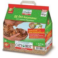 JRS Cat's Best Eco Plus - żwirek drewniany zbrylający 40l (17,2kg)