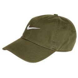 Nike Sportswear HERITAGE86 Czapka z daszkiem legion green/white, towar z kategorii: Nakrycia głowy i czapki