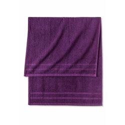 Komplet ręczników (6 części) lila marki Bonprix