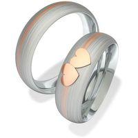 Obrączki ślubne z stali nierdzewnej 7093-1 (Obrączki ślubne z)