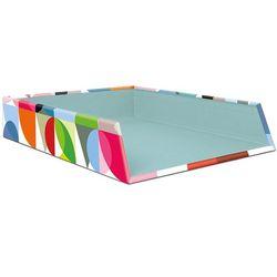 Organizer biurowy, praktyczny i barwny pojemnik na dokumenty i zapiski marki Remember