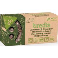 Papagrin (przekąski raw) Chleb lniany suszony o smaku cukini bezglutenowy bio 70 g - papagrin