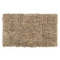 Dywanik łazienkowy Mia beżowy, 45 x 75 cm