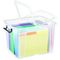 Pojemnik biurowy 40 l  smartbox transparentny - x07472 marki Cep