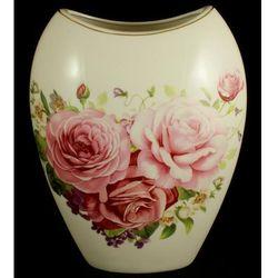 Wazon porcelanowy róża ażurowa marki Fusaichi pegasus