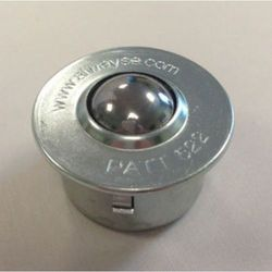 Rolka kulowa z elementem mocującym, z kulką ze stali, Ø kulki 22 mm, nośność uży