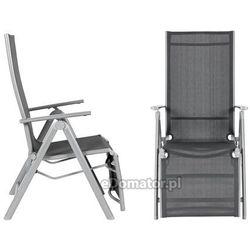 Krzesło ogrodowe LAGUNA 7 pozycji z podnóżkiem, kup u jednego z partnerów