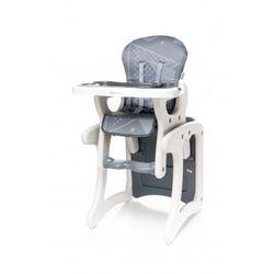 4Baby Fashion krzesełko do karmienia + stolik 2 w 1 grey NOWOŚĆ - sprawdź w wybranym sklepie