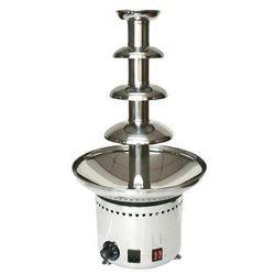 Profesjonalna fontanna czekoladowa 60 cm | max 4 kg | 230W | 220-240V | 330x(H)600mm