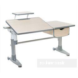 Ballare Grey - Ergonomiczne, regulowane biurko dziecięce FunDesk - ZŁAP RABAT: KOD50, fundesk-ballare-grey