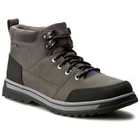 Trekkingi CLARKS - Ripway Top Gtx 261193347 Grey Leather - produkt z kategorii- Trekking i Nordic walking
