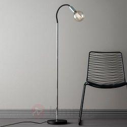 Markslojd Lampa podłogowa raw e27 1 x 60 w chrom czarna (7330024564527)