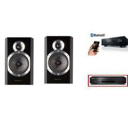 YAMAHA R-S202D + CD-S300 + WHARFEDALE DIAMOND 10.0 - wieża, zestaw hifi - zmontuj tanio swój zestaw na stronie z kategorii Zestawy Hi-Fi