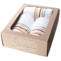 Dekoria Komplet ręczników Castelo Loft zestaw prezentowy biały, komplet