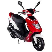 Motorower TORQ VIVO Czarno-Czerwono-Biały z kategorii motorowery