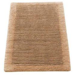 Cawo Dywanik łazienkowy  ręcznie tkany 100 x 60 cm piaskowy