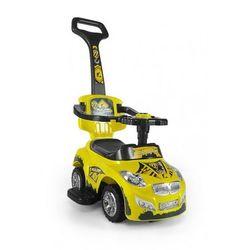 Milly Mally jeździk dziecięcy HAPPY pchacz samochód yellow