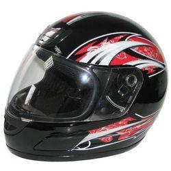 Kask motocyklowy MOTORQ Torq-i5 integralny Czarny połysk (rozmiar M) (kask motocyklowy)