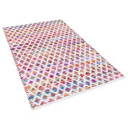 Dywan wielokolorowy bawełniany 80x150 cm arakli marki Beliani