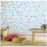 ROOMMATES Naklejki wielokrotnego użytku - Kolorowe confetti