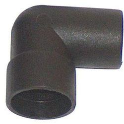 AQUA-SZUT Kolanko Czarne 20mm Czarne (5906877010096)