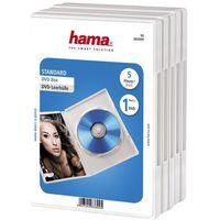 Pudełko HAMA DVD Box Biały (5 sztuk)