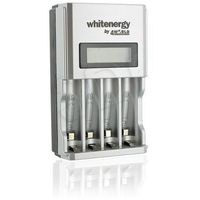 WHITENERGY ŁADOWARKA 4xAA/AAA LCD 1800mA - produkt z kategorii- Ładowarki do akumulatorów