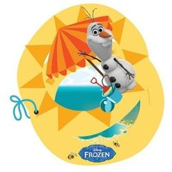 Zaproszenie urodzinowe Olaf - Frozen - Kraina Lodu - 1 szt.