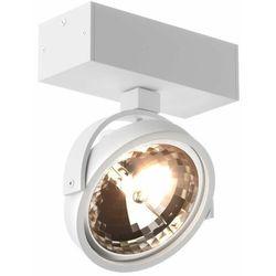 Eglo Spot lampa sufitowa go sl1 89962-g9 zumaline metalowa oprawa ścienna okrągły reflektor biały