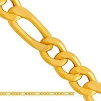Złoty łańcuszek dmuchany figaro  od producenta Ld031