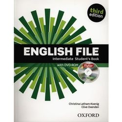 English File. Intermediate Student's Book. Third Edition z DVD-ROM (ISBN 9780194597104)