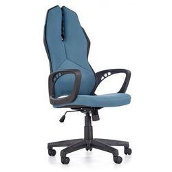 Fotel gabinetowy Nathan - niebiesko - czarny
