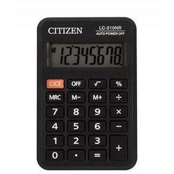 Citizen Kalkulator kieszonkowy lc210nr, 8-cyfrowy, 98x64mm, czarny