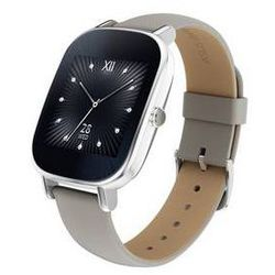 Inteligentne zegarki  zenwatch 2 wren (wi502q) (90nz0031-m00720) srebrne/khaki, marki Asus