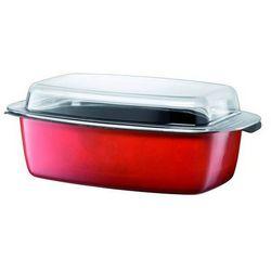 - brytfanna prostokątna ze szklaną pokrywą energy red marki Silit