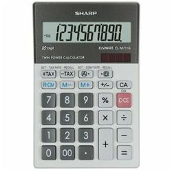 Kalkulator SHARP Desktop Box ELM711GGY Szary