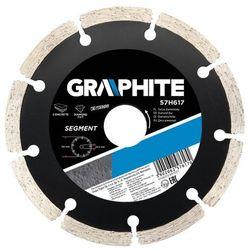 Tarcza do cięcia GRAPHITE 57H618 180 x 22.2 mm diamentowa segmentowa - sprawdź w wybranym sklepie