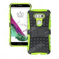 Pancerne etui Kickstand LG G5 H850 zielone - Zielony - sprawdź w wybranym sklepie