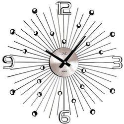 Zegar ścienny ht074.2 średnica 48,5 cm grafitowy marki Jvd