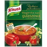60g węgierska zupa gulaszowa z czerwoną papryką | darmowa dostawa od 150 zł! marki Knorr