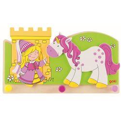 Goki Wieszak na ubrania dla dzieci - księżniczka z jednorożcem