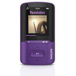 Mp3 Philips SA4VBE04 z pamięcią wbudowaną 4GB