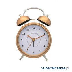 Zegar stojący 30 cm wake up miedziany marki Nextime